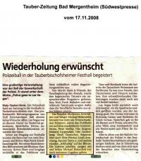 Tauber Zeitung